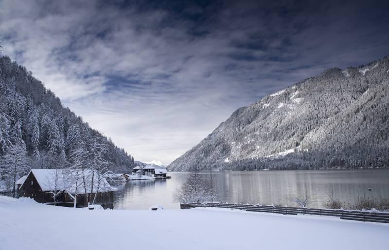 Zauberhaftes Eisparadies am Weisssensee