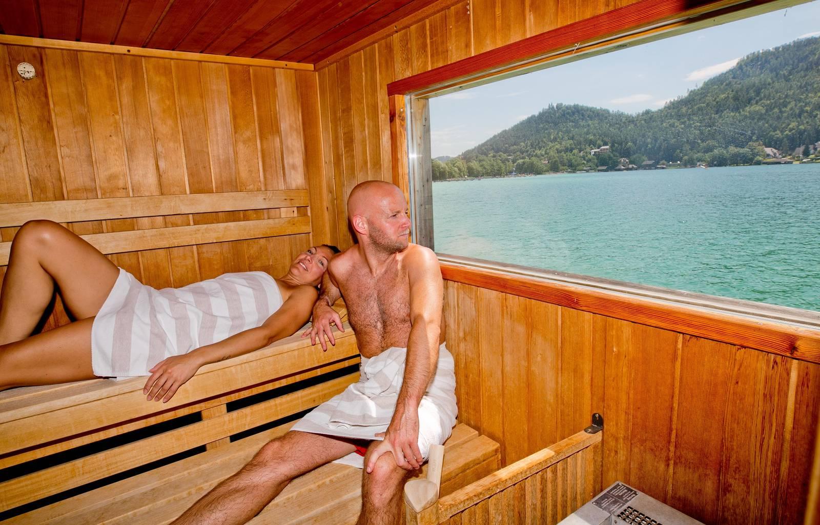 Hotel Amerika Holzer_Sauna