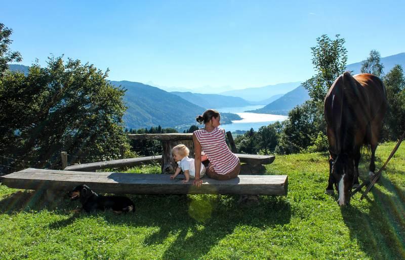 Urlaub mit Kind und Hund, Ossiacher See © pixelpoint multimedia, Handler