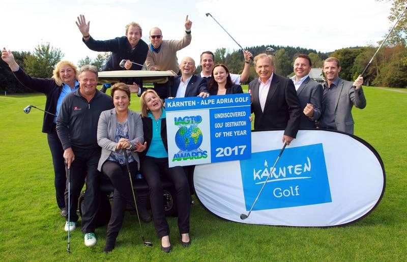 "Golf Award 2017 ""Undiscovered Golf Destination of the year 2017"""