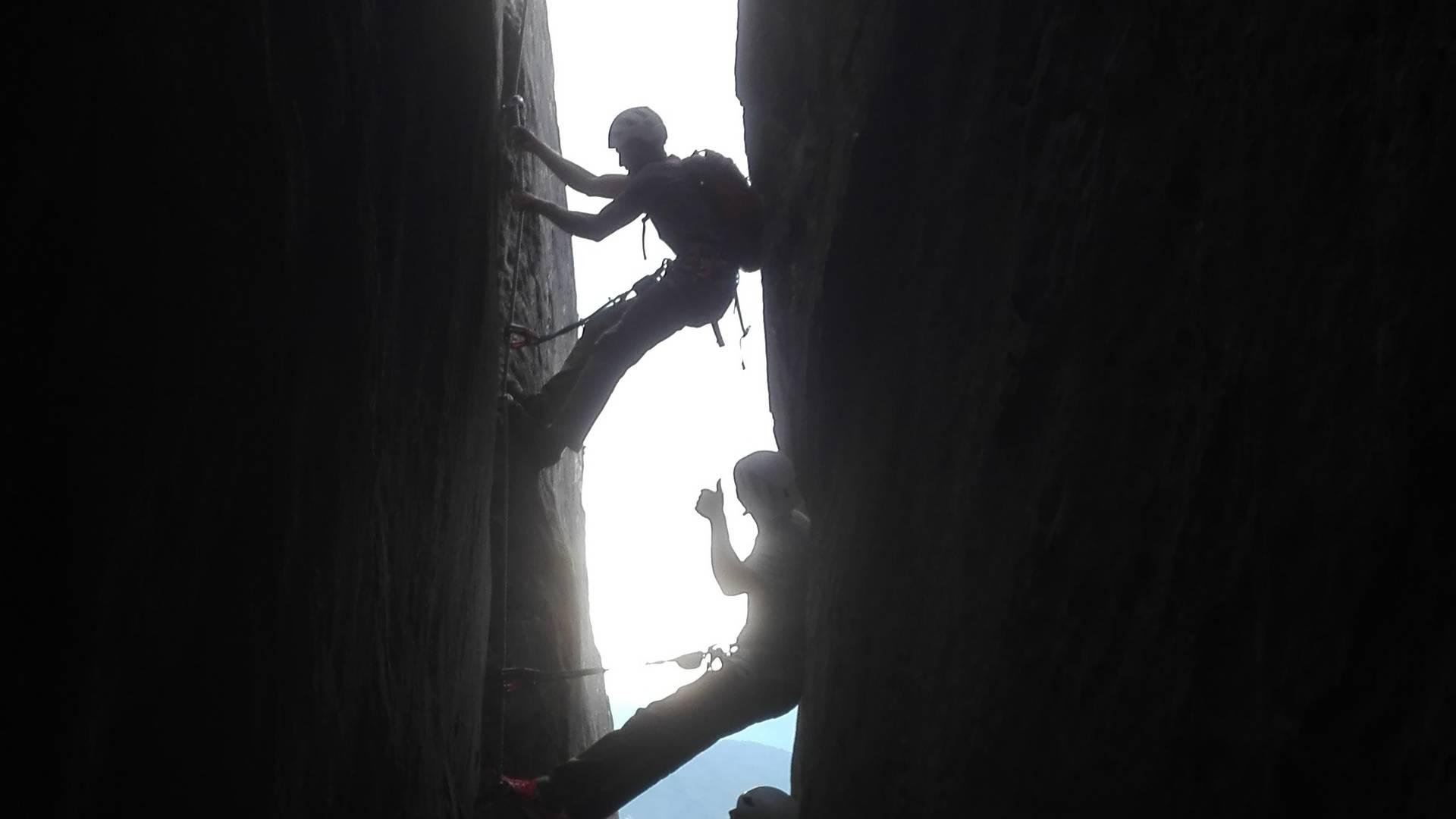 Am Magic Mountain Trail Kanzianiberg mit Highlife