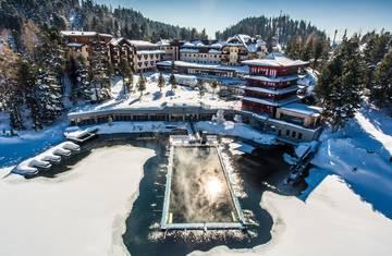Hotel Hochschober Turracher Hoehe im Winter
