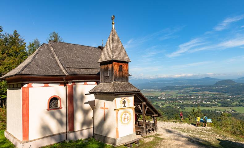 Kapellenberg bei St. Jakob im Rosental