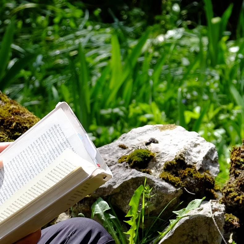 Die Worte ueber vergangene Tage haengen in der Luft Literarische Wanderung Bad Eisenkappel