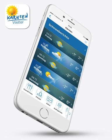 Mockup app wetter
