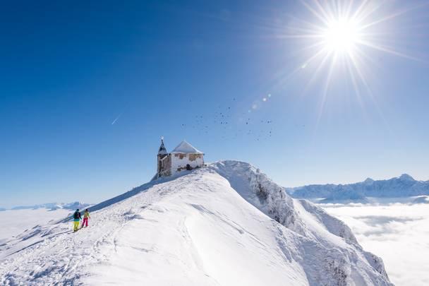 Schneeschuhwanderung Dobratsch