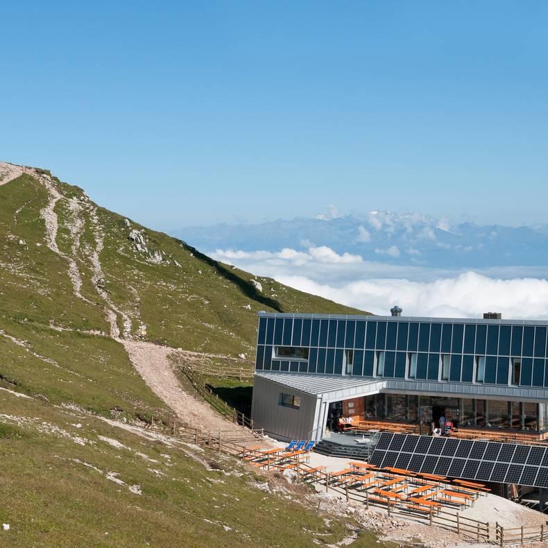 Dobratsch Gipfelhaus