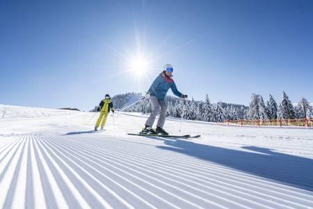 Mit dem Skikarussellin 31 Skigebiete