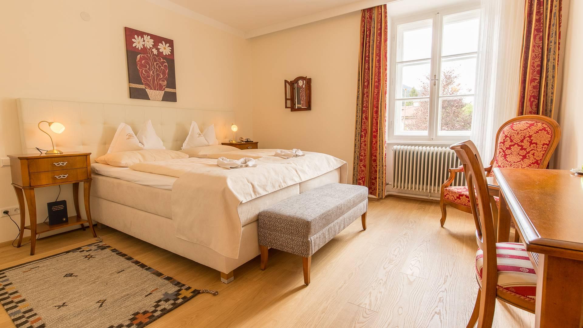 Hotel Schloss Lerchenhof Zimmer