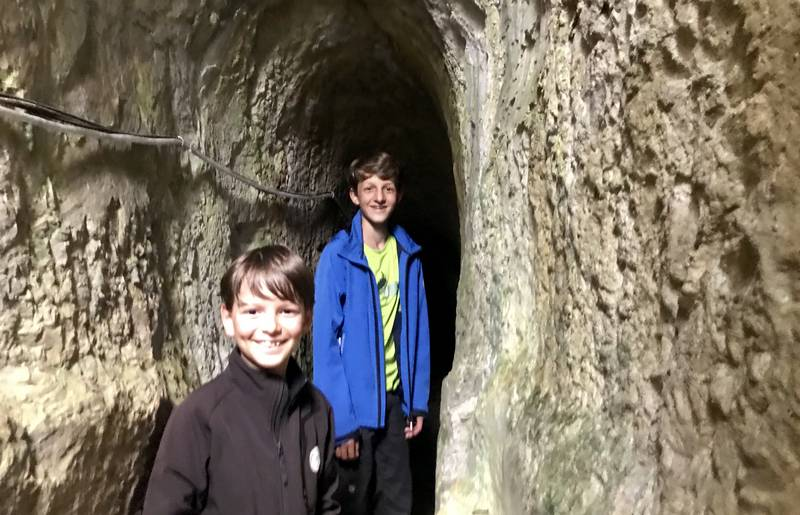 Stollenwandern in Bad Bleiberg