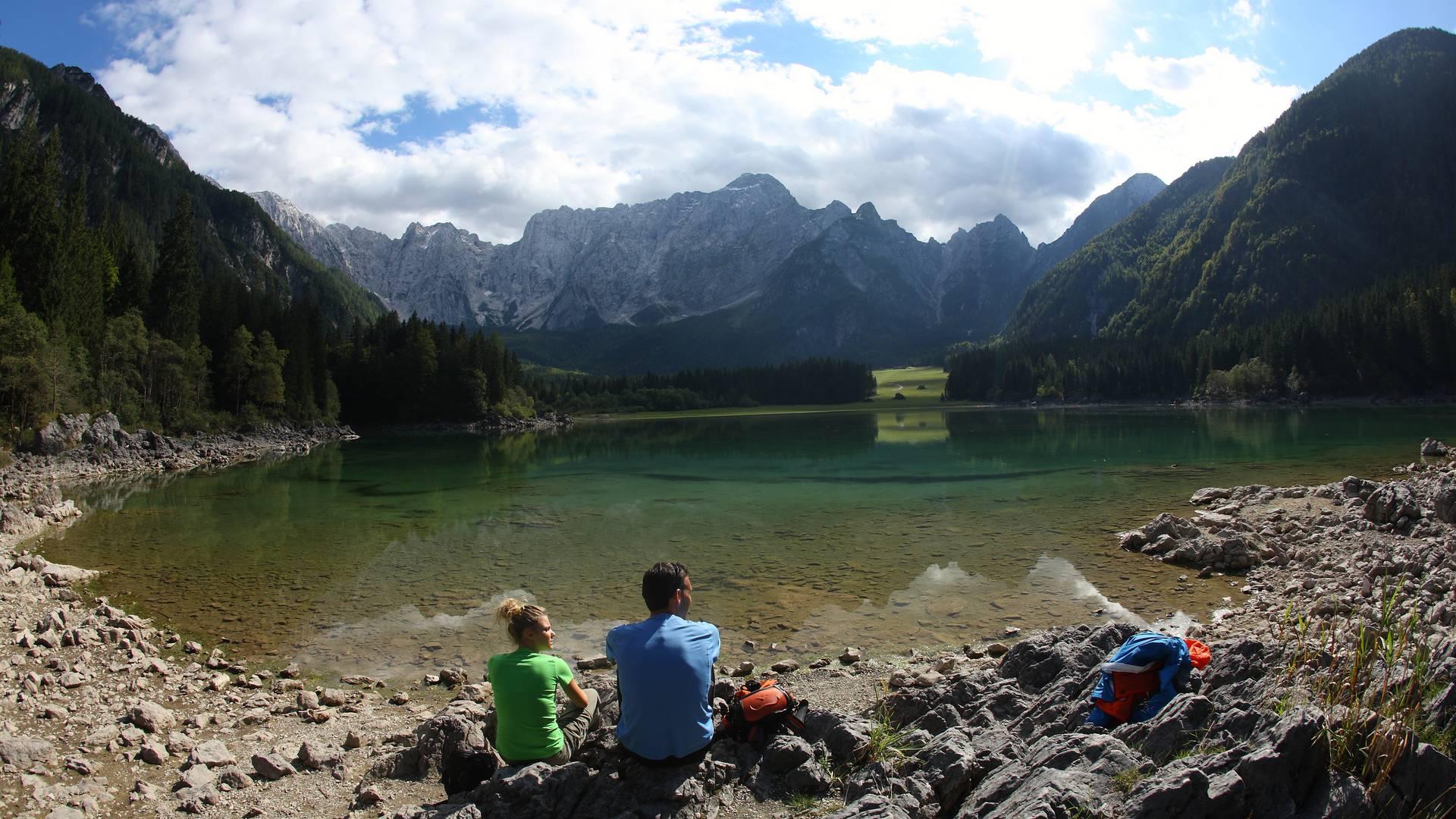 Alpe-Adria-Trail Laghi di Fusine