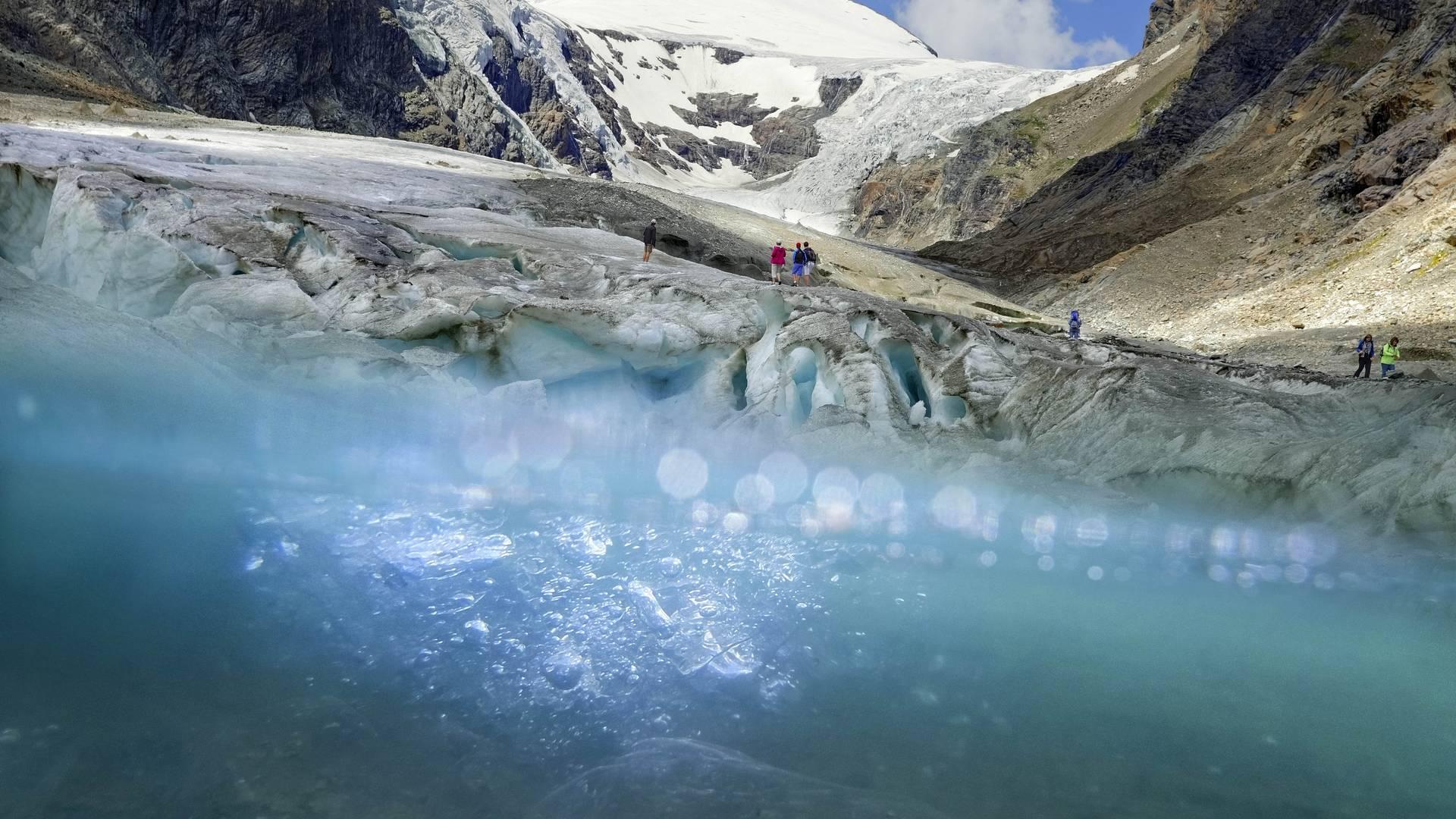 Alpe-Adria-Trail Pasterzegletscher
