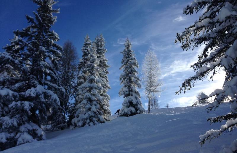 Skitour Gerlitzen Andrea