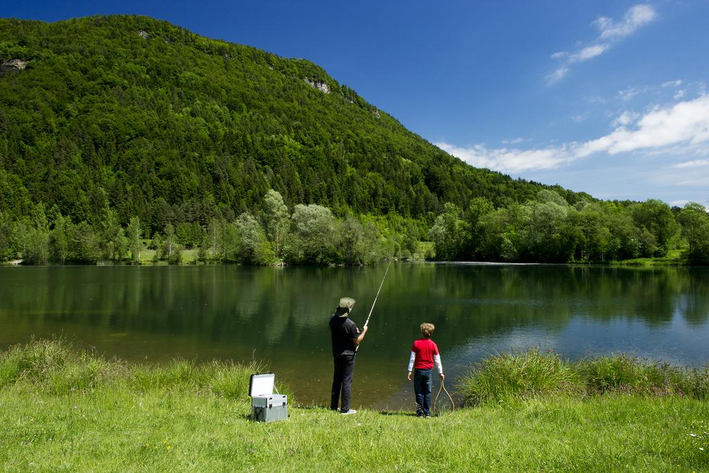 Frühsommer - Angeln am Linsendorfer See